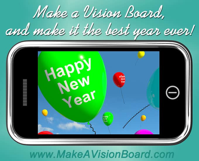Make a vision board and make a happy new year! http://www.makeavisionboard.com