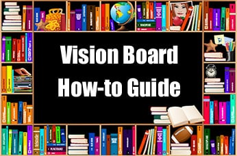 How to Make a Vision Board - instructions, information and help at http://makeavisionboard.com