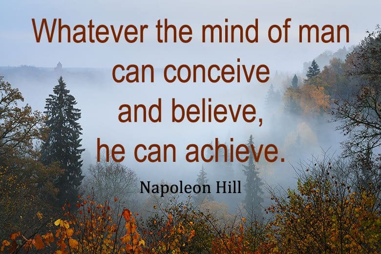 Napoleon Hill - The Mind of Man - http://makeavisionboard.com