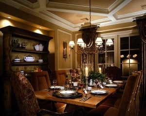 Formal Dining Room - Manifesting your dreams at http://makeavisionboard.com/build-your-dream-home-thoughts-on-the-emotion-in-the-intention/