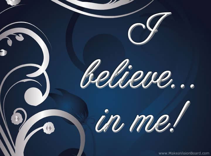 I believe... Weight Loss Affirmations at http://www.makeavisionboard.com/weight-loss-affirmations