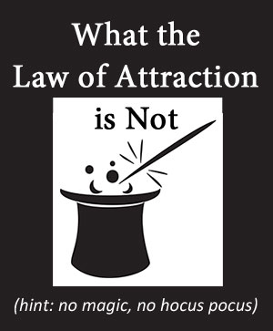What the law of attraction is NOT - find out at http://makeavisionboard.com/what-is-the-law-of-attraction/
