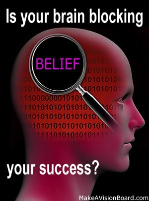 Law of Attraction Money - how to find out if your brain is blocking your success - http://makeavisionboard.com/law-of-attraction-money/