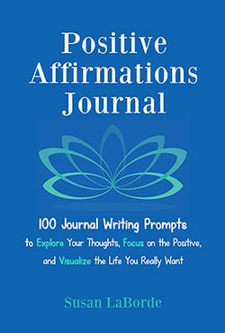 Positive Affirmations Journal from MakeAVisionBoard.com